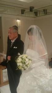 花嫁の入場